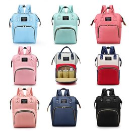 Wholesale Large Capacity Waterproof Maternity Backpack fashion Mommy Backpacks Nappies Diaper Bags Mother Handbags Outdoor Nursing Travel Bags color