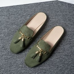 $enCountryForm.capitalKeyWord Australia - size 34-44 pregnant shoes chains tassel mules woman fringe pendant babouche korean style mules shoes summer outdoor