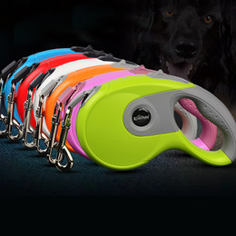 China 3M 5M Automatic Retractable Supplies Dog Collar Leash Extending Puppy Rope Tape Walking Leads Quick Release for Cat Puppy cheap green led tape suppliers
