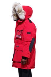 89a10f44052 2018 Nueva llegada ganso diseñador de hombre abrigos de invierno para  mujeres ropa para hombre s chaquetas de lujo marca rompevientos Canadá piel  mantra de ...