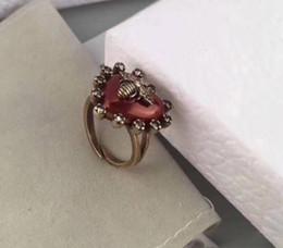 $enCountryForm.capitalKeyWord Australia - Heart Adjustable Open Ring Sexy Womens Animal Crystal Finger Ring Cool Elegant Rings Jewelry For Women