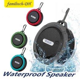 $enCountryForm.capitalKeyWord NZ - C6 Speaker Bluetooth Speaker Mini Potable Wireless Audio Player Waterproof Speaker Hook And Suction Cup Stereo Music Player High Quality