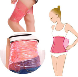 Wholesale Women Slimming Waist Belt Body Shaper Wrap Thigh Calf Arm Leg Belly Lose Weight SHAPE UP Sauna Plastic Nontoxic Slimming Belt A42301