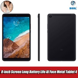 Second-hand Original Xiaomi Mi Pad 4 32GB 64GB 95%-new Tablets PC with flaws 6000mAh Snapdragon 660 AIE CPU Qcta Core 8 inch Screen on Sale