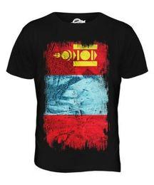 2cbd32945 MONGOLIA GRUNGE FLAG MENS T-SHIRT TEE TOP MONGOL ULS FOOTBALL MONGOLIAN  SHIRT Harajuku Summer 2018 Tshirt Tees Custom Jersey t shirt