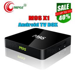 $enCountryForm.capitalKeyWord Australia - 2019 Best Genuine M9S X1 Android TV box Amlogic S905X Quad Core Android 6.0 Marshmallow IPTV Box 1GB 8GB 2.4G WIFI HDMI OTT Box