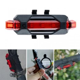 $enCountryForm.capitalKeyWord Australia - Portable USB Rechargeable Bike Lights Bicycle Tail Rear Safety Warning Light Taillight Lamp Super Bright Led luz bicicleta