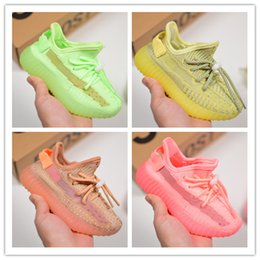 $enCountryForm.capitalKeyWord NZ - Cheap Baby Kids Kanye West Children Athletic Shoes Boys Running Shoes Girls kids shoes Baby Training Sneakers Size 28-35