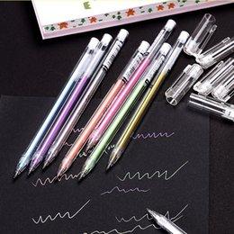 $enCountryForm.capitalKeyWord Australia - 10pcs set Large-capacity Water Chalk Water-based Pen Highlighter Pen Colorful Gradient Pen Student Gift School Office Supplies