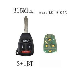 $enCountryForm.capitalKeyWord Australia - 3+1Buttons 315Mhz Complete Remote Key For Dodge Chrysler 2005-2009 KOBDT04A Car key Replacement