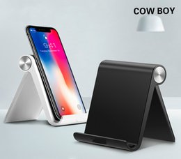 Foldable Desk Stand For Tablets Australia - Phone Holder Stand for Universal Foldable Mobile Phone Stand for Samsung Galaxy S9 S8 Tablet Stand Desk Phone Holder