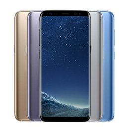 Chinese  Original 5.8inch Samsung Galaxy S8 S8+ plus Octa Core 4GB 64GB Face Recognition Fingerprint 12.0MP 4G LTE Smartphone Refurbished Cell Phones manufacturers