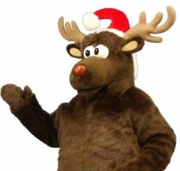 ada5d560c27 Moose Costumes Australia - Custom Brown christmas moose mascot costume  Adult Size
