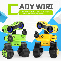 Dance Sing Toy Australia - RC Robot Smart Programmable For Touch Control Voice Message Record Sing Dance Toy For kid Children Gift Educational Toy