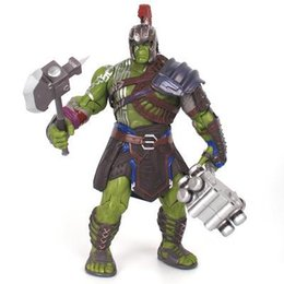 toy robert UK - 21cm Thor 3 Ragnarok Hulk Robert Bruce Banner PVC Action Figure Model Collection Kids Toy Doll