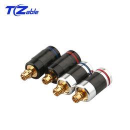 $enCountryForm.capitalKeyWord Australia - Audio Connector Earphone Pin Plug Carbon Fiber Gold-Plated Audio Jack Solder Wire Connector For SE535 SE215 SE846 ED5