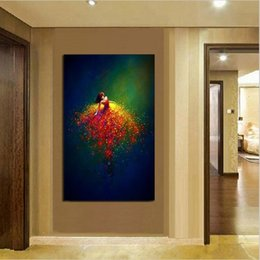$enCountryForm.capitalKeyWord Australia - New 100% Hand Painted Oil Painted on Canvas Abstract Figures Painting Modern Home Wall Art Decoration