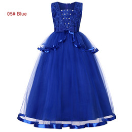 red tutu christmas NZ - summer 5 to 10 years Girls pearls Rhinestone tutu dresses, children party clothes, kids & teenager boutique clothing, 4AAX808DS-07, 5 colors