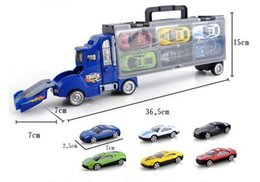$enCountryForm.capitalKeyWord Australia - Diecast Model Cars suzakoo catapult battle truck storage box alloy car model Toy Vehicles one set
