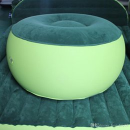 Relax Chairs Australia - Fashion Inflatable Couch Bean Bag Air Cube Chair Movies Gaming Reading Relaxing Camping Outdoor Car inflatable cushion Chair