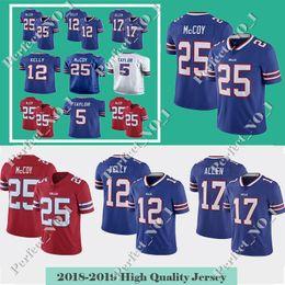 Lesean Mccoy Football Jersey UK - Buffalo Men s Bill 95 WILLIAMS 17Josh  Allen 25 LeSean McCoy 01c66cff9