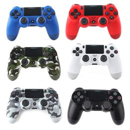 Discount sony wireless controller - DoubleShock 4 Wireless Controller for PS4 Playstation Game Joysticks Bluetooth Controllers Game Accessories Gamepad for