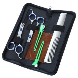 $enCountryForm.capitalKeyWord UK - Salon Barber Hair Cutting Thinning Scissors Shears Hairdressing Set Regular Flat Teeth Blade Cutting Thinning Styling Tool AB