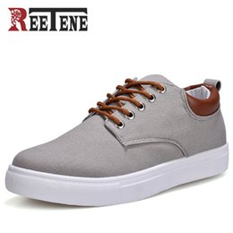 Spring Fall Canvas Shoes Australia - 2019 New Color New Arrival Spring Summer Comfortable Casual Shoes Mens Canvas Shoes For Men Lace-Up Brand Fashion Flat Loafers Shoe