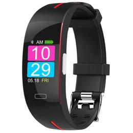 $enCountryForm.capitalKeyWord Australia - P3 Bluetooth smart watch blood pressure real-time heart rate monitoring ECG+PPG ECG IP67 waterproof sports smart bracelet