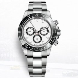 Luxury mens watches automatic chronograph online shopping - Hot sale men watch automatic watch Ceramic bezel Sapphire glass watches movement Not chronograph mens watches wristwatch watch