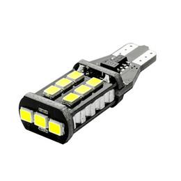 d5ab4cb09b 2X T15 W16W Super Bright 15 SMD 2835 LED CANBUS NO ERROR Car Tail Bulb  Brake Lights Auto Backup Reverse Lamp Dome Light Xenon White