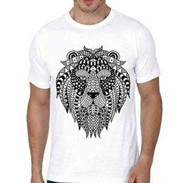 $enCountryForm.capitalKeyWord Australia - Stylish Lion High Quality Graphic Printed Polyester Tshirt For Men And Boys