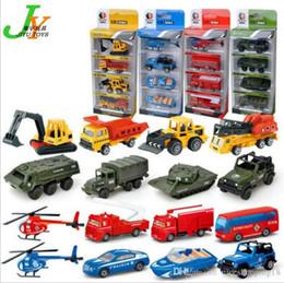 Armor Toys Australia - T37 Kid Mini Model Cars 4 set Alloy Diecast Construction Vehicle Engineering Car Dump-car Dump Truck Model Classic Toy Mini Gift for Boy