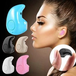 $enCountryForm.capitalKeyWord Canada - 5 Colors S530 Mini Wireless Bluetooth Headphones Stereo Headphones Wireless Headset Earbuds With Micro Party Favor CCA11103 100pcs