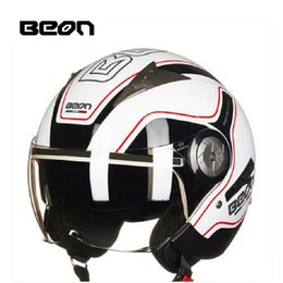 $enCountryForm.capitalKeyWord Australia - 2018 Autumn New Europe ECE Certification Netherlands BEON Double lens Motorcycle Helmets B-216 ABS Half Face Motorbike Helmet