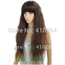 HealtHy wigs online shopping - Fine brown healthy long Wig wigs