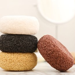 Cotton Sponge Australia - Sponge bath ball adult bathing back deep cleansing skin exfoliating clean cotton ball Natural Loofah Sponge Bath Ball Shower Rub 2019