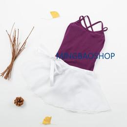 Leotard Cotton Gymnastics Australia - Ballet Dress Clothes Leotards dance wear for girls Ballet Dancewear Ballerina Dance Gymnastics Leotard with Skirt Outfit