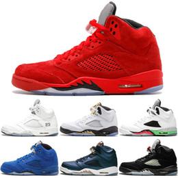 be9616e152af92 wings 5 mens basketball shoes Pro Star Black White grape Laney  International Flight Fresh Prince Oreo 5s Sports Sneakers Designer Shoes