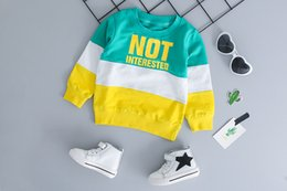 halloween t shirts for kids Australia - Spring Autumn Baby Boy Girl Clothing Set Cotton Kids Toddler Clothes Letter Sport Suit For Boy Infant Long Sleeve t-shirt+pants