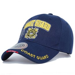 fitted tactical hats UK - Casual USA Coast Guard Army Baseball Cap Bone US Navy Hat Snapback Caps Men Women Balck Hats & Caps Hats, Scarves & Gloves Tactical Cap Casq