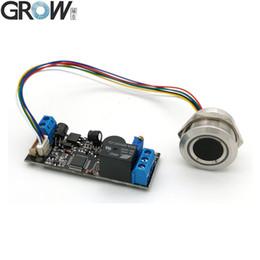 Wholesale GROW K202+R503 DC12V Low Power Consumption Ring Indicator Light Capacitive Fingerprint Access Control Board