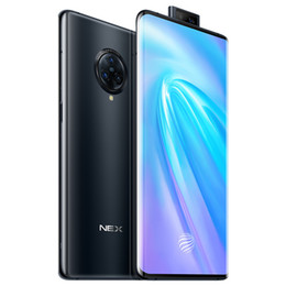 "Original Vivo Nex 3 4G LTE-mobiltelefon 8GB RAM 128GB ROM SNAPDRAGON 855 PLUS OCTA CORE 64.0MP AI NFC Android 6.89 ""Full Screen Fingerprint ID 4500MAH Smart mobiltelefon"