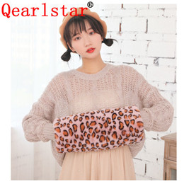 women winter mittens Australia - Qearlstar Faux Fur Hand Wrist Winter Warm Arm Gloves Cuffs Lady Soft Big Size Long Mitten muff Women Fur Bracelet Wristband DW41 SH190921