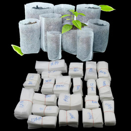 Wholesale Non woven Seedling Bag Plant Grow Bags Fabric Seedling Pots Flower Plant Organic Vegetable Nursery Bags Biodegradable Plant Bag GGA2145