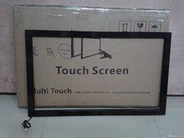 "touch screen panel price Australia - 55"" inch touch screen overlay kit touch panel price 10 points infrared touch panel overlay kit for tv display monitor,smart mirror"