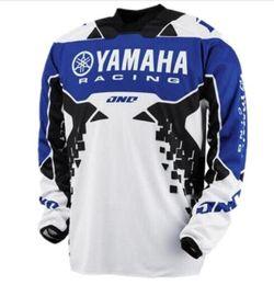 $enCountryForm.capitalKeyWord Australia - 2019 New Tops Tee YAMAHA Motocross jersey Downhill perspiration pullover T-shirts cross country mountain long sleeve tshirt T