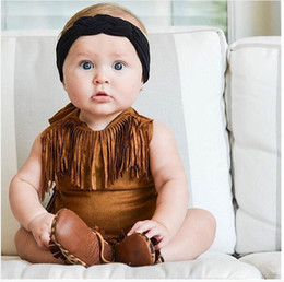 Girl Toddlers Australia - Ins hot sale tassels baby romper newborn baby girl clothes Newborn Romper baby infant girl designer clothes toddler girl clothes A5574