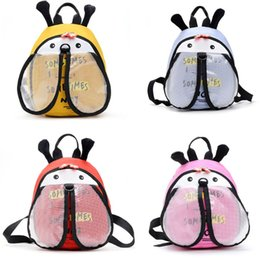Wholesale Cartoon Bee Anti Lost Backpack Baby Safety Walking Harness Leash School Bag for Child Kid Toddler