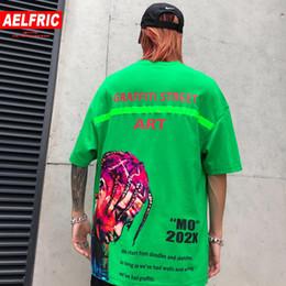 $enCountryForm.capitalKeyWord Australia - AELFRIC Hip Hop West Rapped Print T-shirts Men Fashion Tops 2019 Summer Casual Harajuku Short Sleeve Skateboard Streetwear